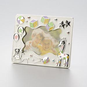 Porta-Retrato-Infantil-Prateado-ABC-10-x-15-cm-30107