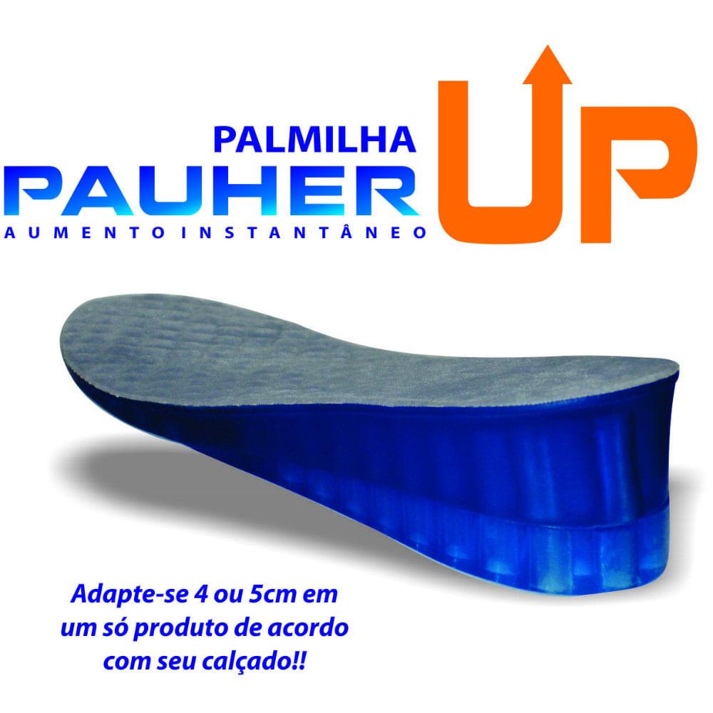 Palmilha Ortopédica Para Aumentar Altura Calcanheira de