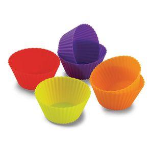 Forma-Em-Silicone-Para-Cupcake-6-Unidades-Coloridas-7-x-35-cm-SLC50G