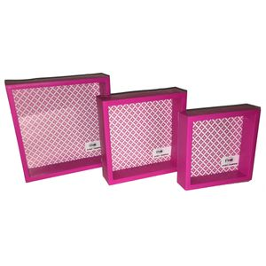 Kit-Porta-Retrato-Tipo-Quadro-Com-3-Pecas-99709-rosa