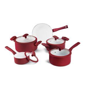 Conjunto-de-Panelas-Ceramicas-5-Pecas-Vermelha-PA300-5PVM