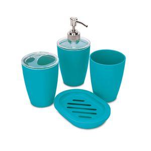 Jogo-de-Banheiro-com-4-pecas-Hauskraft-Azul