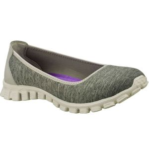 Tenis-Feminino-Skechers-Ez-Flex-Roll-With-It-GRY-22635-Cinza