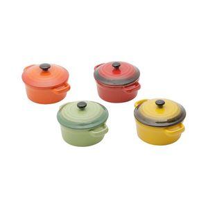 Conjunto-de-4-Mini-Panelas-Redondas-de-Ceramica-Coloridas-Com-Tampa-125-CM-30396