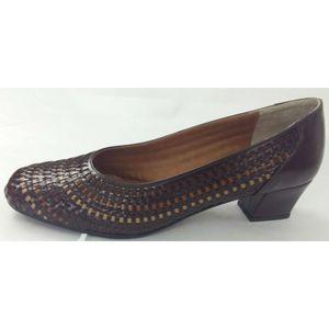 Sapato-Feminino-Tresse-em-Couro-Marinucci-R12-Marrom-Degrade-