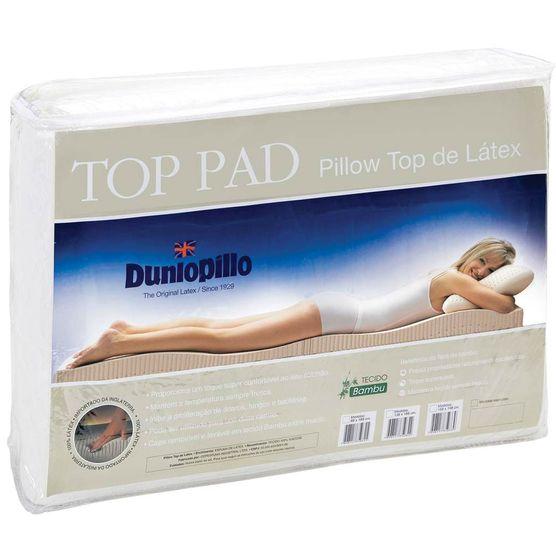 Pillow-Top-Latex-Casal-King-SIze-Capa-Bambu-193x203x03-Top-Pad-Dunlopillo-Copespuma