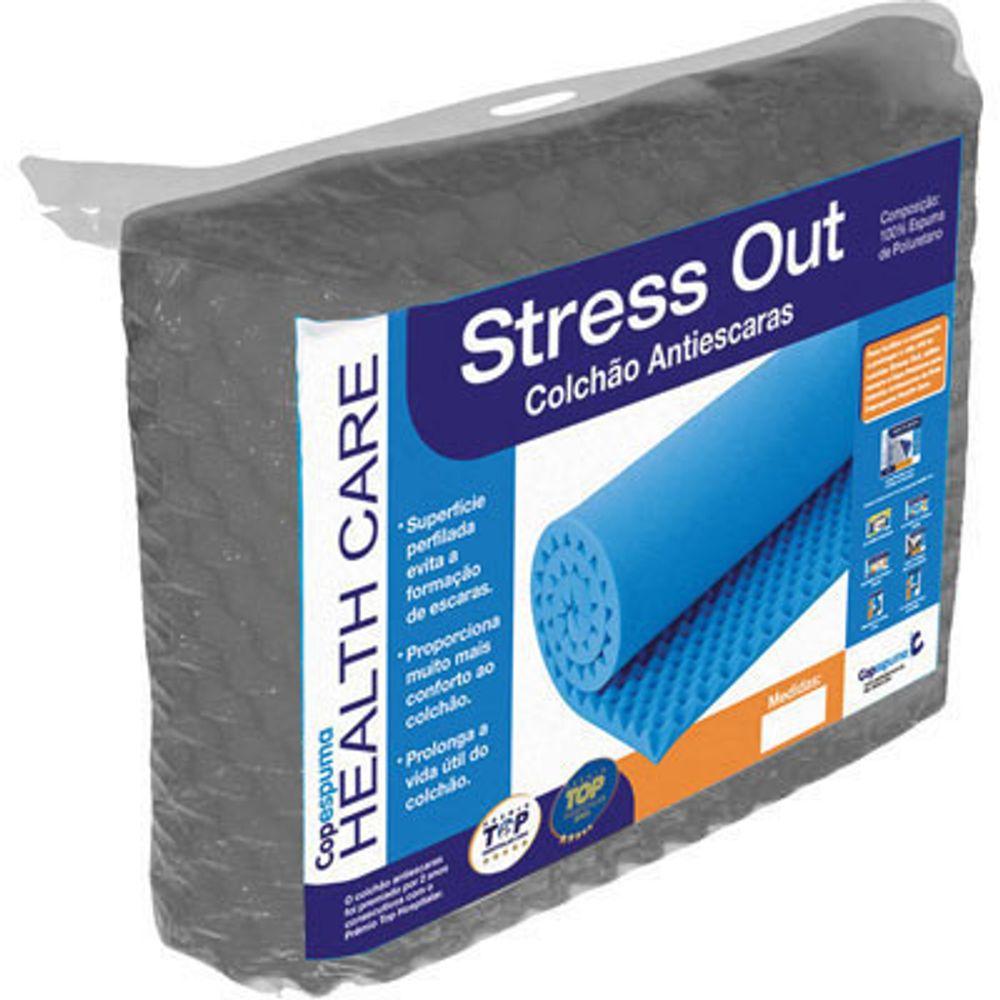 867c613e2a63 Colchonete Anti-Escaras S28 Stress Out Caixa de Ovo Solteiro 88 X ...