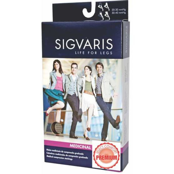 565e27f67 Meia 3 4 Panturrilha Sigvaris 862 Premium 20-30 Mmhg com Ponteira Aberta  Sigvaris - Saudestore