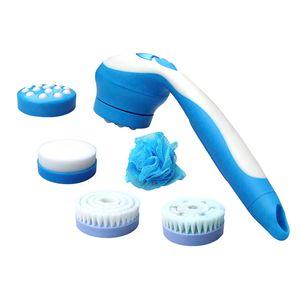 Com 5 acessórios, esse massageador possui 3 funções de opções para uso, para transformar seu banho mais relaxante.