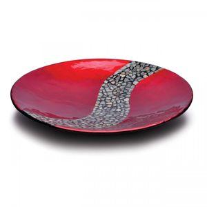Prato-Madeira-35cm-e-Pastilhas-Prestigie-2055-Vermelho-Metalico