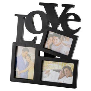 Porta-Retrato-Love-Preto-para-3-Fotos-3892