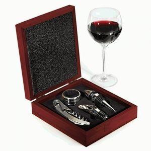 Estojo-com-Saca-Rolha-e-mais-3-Acessorios-para-Vinho-em-Madeira-ZX3605