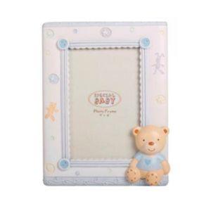 Porta-Retrato-Infantil-Em-Resina-Urso-Com-Botoes-Vertical-D163830