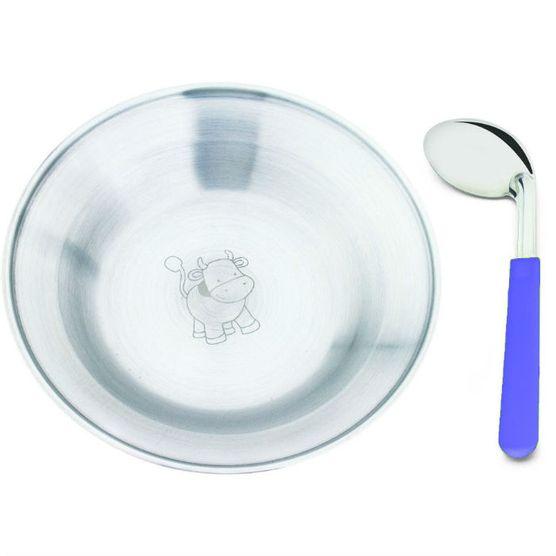 Conjunto-Infantil-de-Prato-e-Colher-Hecules-2200-2-inox-azul