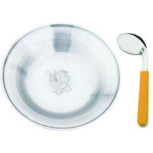 Conjunto-Infantil-de-Prato-e-Colher-Hecules-2200-2-inox-laranja