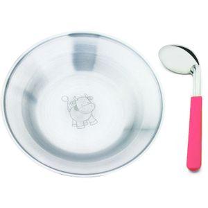 Conjunto-Infantil-de-Prato-e-Colher-Hecules-2200-2-inox-rosa