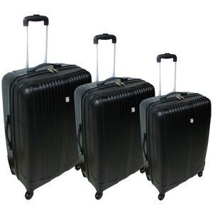 Conjunto-de-Malas-em-ABS-Santorini-para-Viagem-com-3-Pecas-Preto-Y333-9089