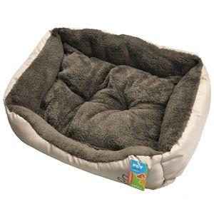 Cama-Pet-Comfort-59x40x17-cm-Batiki-17450-Marrom-cao-gato
