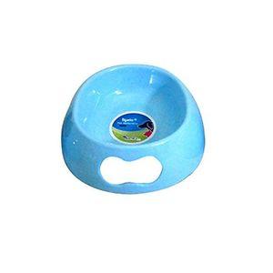 Tigela-Pet-Melamina-500-ml-19-X-19-X-6-cm-azul-Batiki-caes-e-gatos