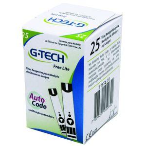 Tiras-para-Medicao-de-Glicose-G-Tech-Lite-25-Tiras