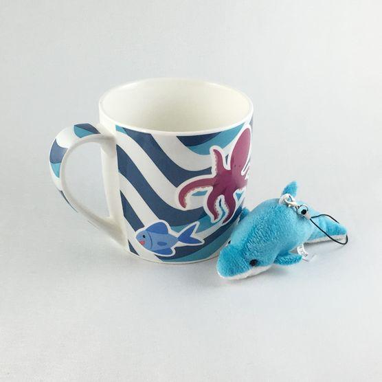 Caneca-De-Ceramica-Com-Chaveiro-Boto-Azul-1311-a