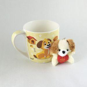 Caneca-De-Ceramica-Com-Chaveiro-Cachorro-Amarelo-1311