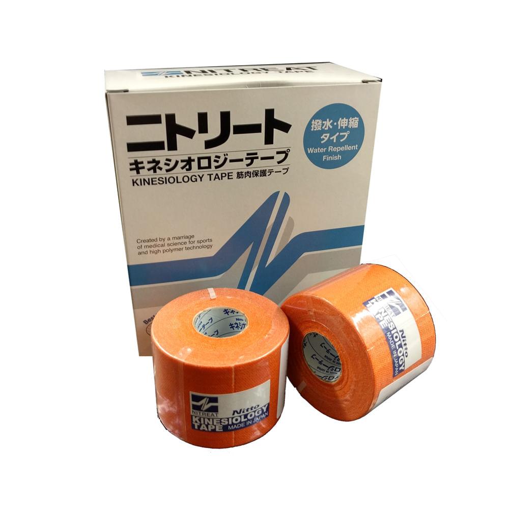 cac178779b Bandagem Kinesio Tape Adesiva 5 cm x 5 m Kinesiology Laranja ...