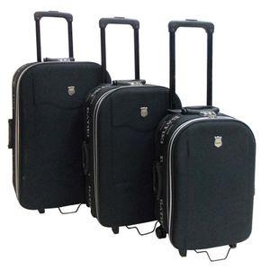 Conjunto-de-3-Malas-para-Viagem-em-Poliester-Mexico-Preto