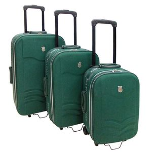 Conjunto-de-3-Malas-para-Viagem-em-Poliester-Mexico-Verde