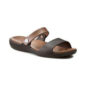 Sandalia-Crocs-Coretta-W-200067-Bronze