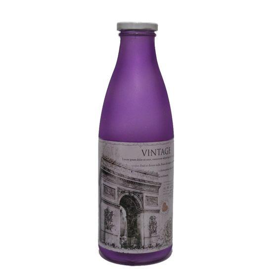 Garrafa-De-Vidro-Fosca-900-Ml-Vintage-Roxa