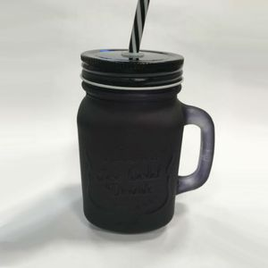 Caneca-Em-Vidro-Com-Tampa-E-Canudo-450-ML-Black