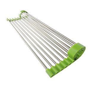 Escorredor-Multiuso-Flexivel-Em-Inox-E-Silicone-Verde-43-X-28-Cm