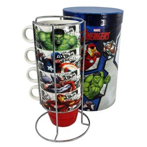 Torre-De-4-Canecas-Com-Suporte-250-ML-Bone-China-Vingadores