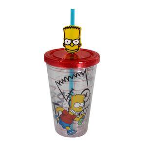 Copo-Com-Canudo-E-Pingente-Bart-Simpsons-500-ML02