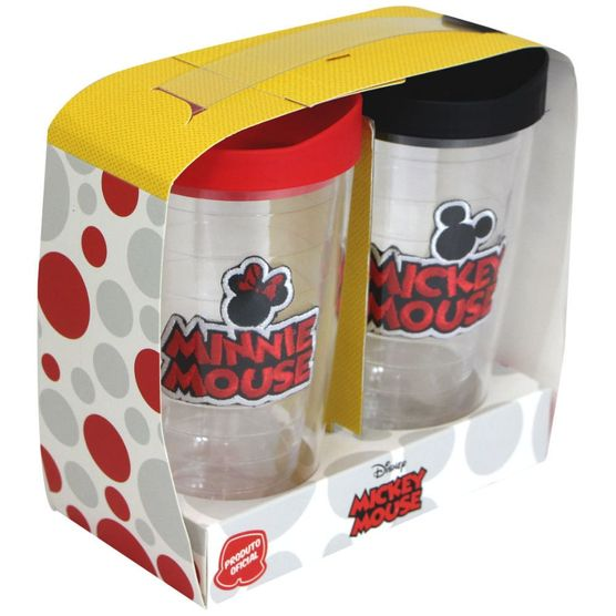 Kit-2-Copos-400-ML-Mickey-E-Minnie-Bordado-Disney