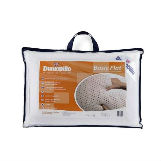 Travesseiro-Dunlopillo-Basic-Flat-Latex-50X70-cm