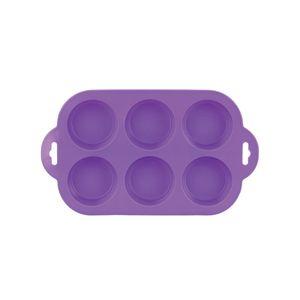 Forma-Para-6-Cupcakes-Em-Silicone-Roxo