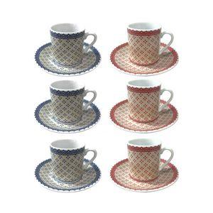 Jogo-De-6-Xicaras-De-Cafe-Expresso-Em--Porcelana-Coffe-Time-80-Ml