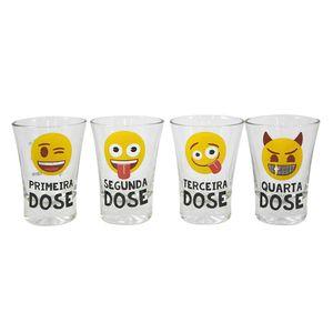 Conjunto-De-4-Copos-Shot-Em-Vidro-60-Ml-Emoji