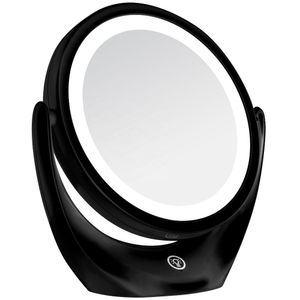Espelho-com-Aumento-de-5x-Redondo-Dupla-Face-Leds-Recarregavel-BC1007-Preto