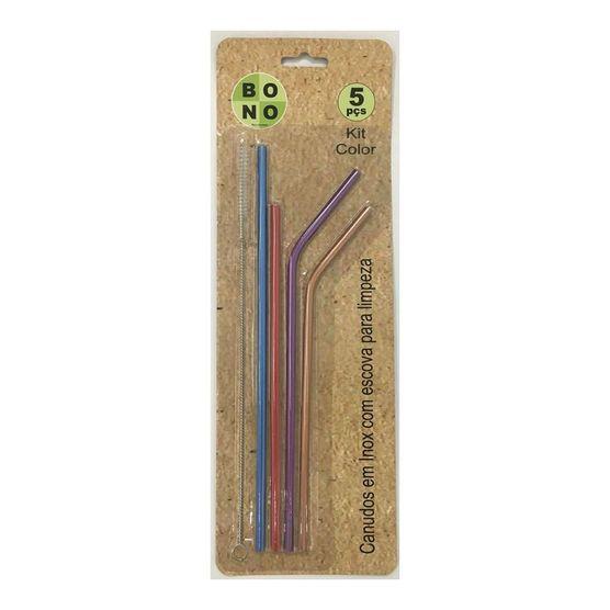 Kit-Com-4-Canudos-Colors-Ecologicos-e-Reutilizaveis-Em-Inox-com-Escova