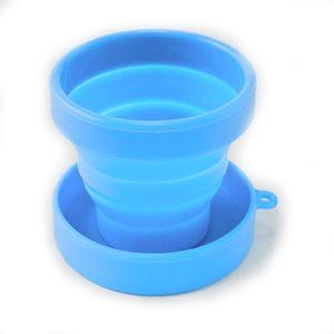Copo-Reutilizavel-Retratil-De-Silicone-Com-Tampa-150-Ml-Azul