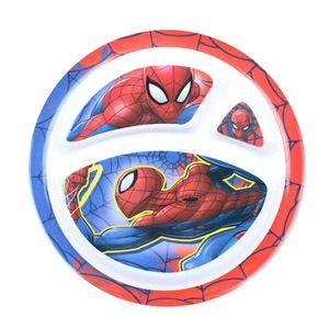 Prato-Com-Divisoria-Em-Melamina-Spiderman-21-Cm