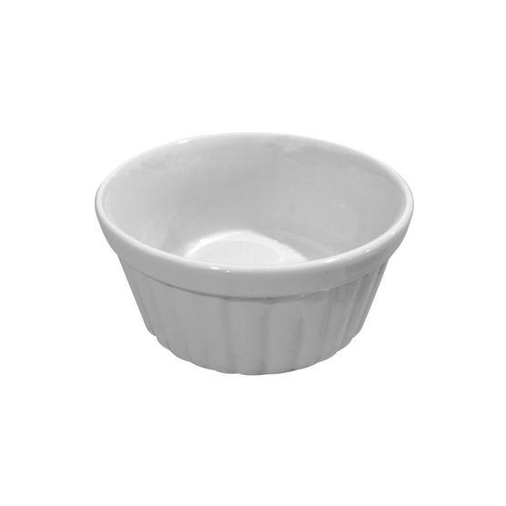 Ramequim-Canelado-Em-Ceramica-105-Cm-250-ML-Branco