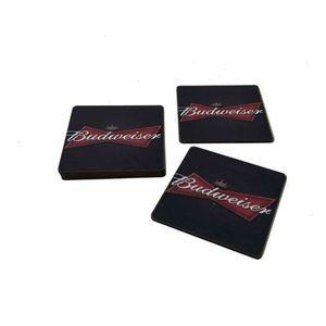 Kit-Porta-Copo-Com-6-Pecas-Em-MDF-Budweiser-10-x-10-cm