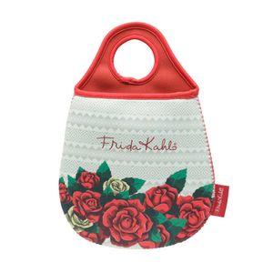 Lixeira-De-Carro-Em-Neoprene-Frida-Kalo-Red-Roses