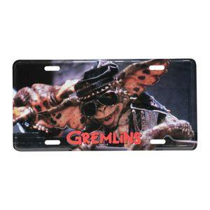 Placa-De-Carro-Em-Aluminio-Gremlins-Cool-Monster-Colorido