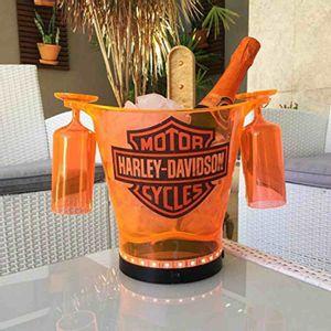 Balde-Em-Acrilico-Harley-Davidson-Laranja--45-L-Com-2-Tacas