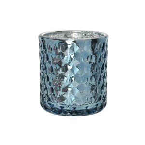 Porta-Vela-Diamond-em-Vidro-LHermitage-Metlico-Azul